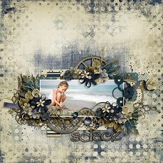 My Bear's Gallery with Layouts, Projects and Photos. Beach Scrapbook Layouts, Vintage Scrapbook, Scrapbook Sketches, Travel Scrapbook, Scrapbooking Layouts, Scrapbook Cards, Scrapbook Templates, Digital Scrapbooking, Heritage Scrapbooking