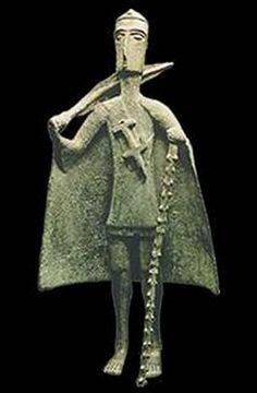 Nuragic Bronzetti, Sardinia 18th - 2nd c. BC
