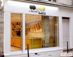 L'Eclair de Génie (Paris IV) - Concept mono-produit autour de l'éclair - Christophe Adam