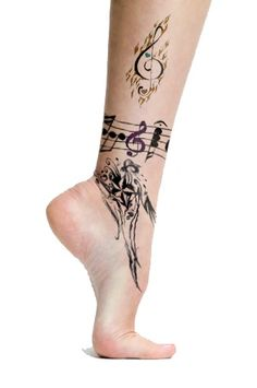 Top of the Foot Tattoo Designs - Bing Images Anklet Tattoos, Foot Tattoos, Body Art Tattoos, Small Tattoos, Lover Tattoos, Bracelet Tattoos, Rib Tattoos, Lena Tattoo, Tatoo 3d