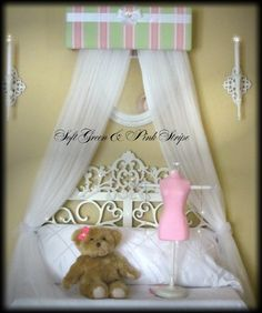 Upholstered Princess Bedroom Crown Canopy by SoZoeyBoutique, $38.99