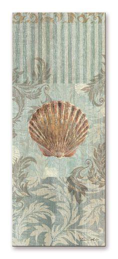 18608 / Cuadro Seaside Heirloom I Concha de mar
