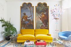 A Look Inside the Eclectic Homes of Seven London Creatives | Serafina SamaPhotography by Ingrid Rasmussen, Courtesy of Thames and Hudson