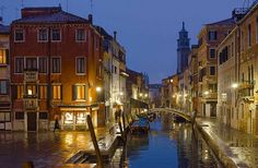 Winter evening in San Polo, Venice, Italy by RAW24X36 on Flickr.