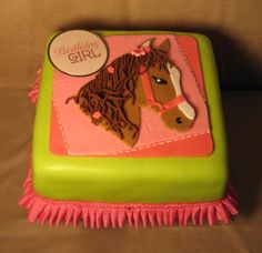 Horse Cake maybe, the head looks good but not the rest