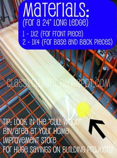 DIY book shelf ledges - Easy, inexpensive and AWESOME! - Classy Clutter