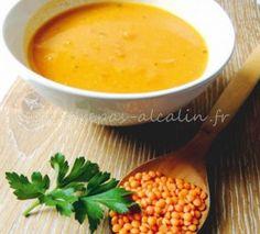 Soupe antiinflammatoire Curcuma lentille