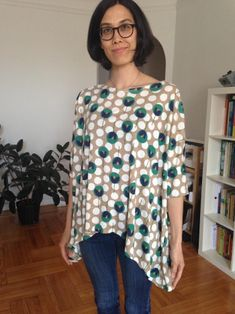 Linen Tent Dress (Tessuti's Gabby Pattern) by Sachi | Project | Sewing / Dresses | Kollabora