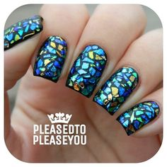 Instagram photo by pleasedtopleaseyou #nail #nails #nailart <3<3<3AWESOME MOSAIC STYLE DESIGN IN GREAT COLOURS-GORGEOUS<3<3<3 @