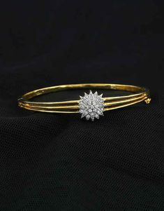 Browse unique range in American diamond bracelet online for women at best price by Anuradha Art Jewellery. Get beautiful collection in designer bracelet, bangle bracelet & tennis bracelets. Diamond Bracelets, Gold Bangles, Jewelry Bracelets, Gold Mangalsutra Designs, Gold Jewellery Design, Jewelry Art, Gold Jewelry, Fashion Jewelry, American Diamond Jewellery