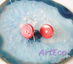 New earrings collection - 925 Sterling Silver Earrings with coral