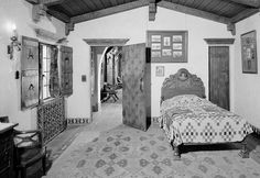 Historic Houses of California - Inyo County - Death Valley National Park - Scotty's Castle