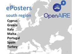 national eposters (openaire south region), OpenAIRE Conference 2012