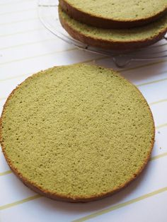 Moist ◆ Light * Matcha Sponge Cake
