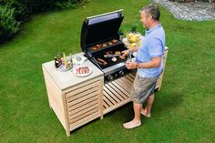Outdoor Furniture, Outdoor Decor, Outdoor Storage, Outdoor Living, Dyi, Grilling, Cool Stuff, Inspiration, Summer