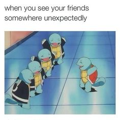 I Wish My Friends Were as Close as Squirtle Squad