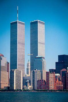 World Trade Center; photo by Inge Johnsson taken in 1991