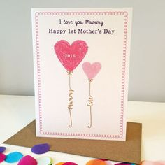 Personalised Mother's Day Card - what's new