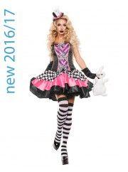 Fancy Hatter Womens Costume