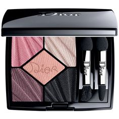 Dior Glow Addict Edition: 5 Couleurs High Fidelity Colors & Effects... ($63) ❤ liked on Polyvore featuring beauty products, makeup, eye makeup, eyeshadow, flirt, christian dior eyeshadow, christian dior eye shadow, eye shadow brush, christian dior and eye brightening makeup