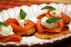 Smoked Salmon on Corn Fritters | Jacques Pepin – Heart and SoulJacques Pepin - Heart and Soul | KQED Food