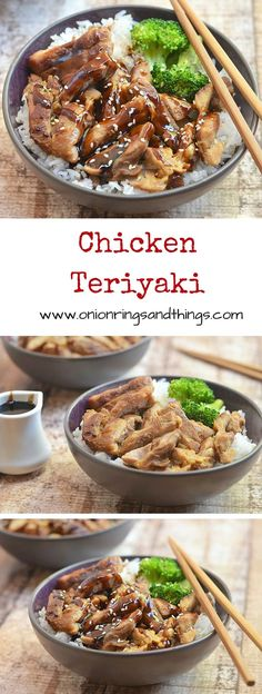 With moist meat, full flavor and from-scratch teriyaki sauce, this chicken teriyaki is a breeze to make and sure to be a family favorite.