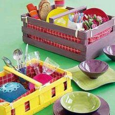 idea para diy canasta de picnic?