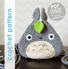 totoro crochet pattern totoro mini backpack crochet backpack
