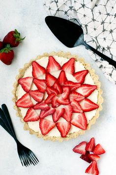Strawberry Mascarpone Tart | Today We Bake