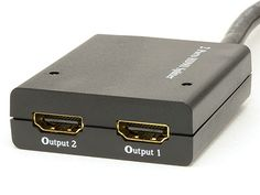 1x2 Table Top HDMI Splitter - Full HD - ComputerCableStore™