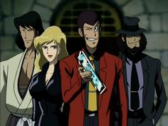 Lupin the III! Omg how am i going to cover this? I'm sure i've seen most the tv episodes but have not seen all the movies. Was just thinking back about faves and this popped up. Lupin stars. He is a beguiling and talented thief, full of hijinks and clever to the extreme. He invariably eludes the tenacious Inspector Zenigata yet often succumbs to the wily machinations of Fujiko, a sexy rival whom Lupin fancies. What can I say? Lupin rocks. What kind of collections are out there? I must go…