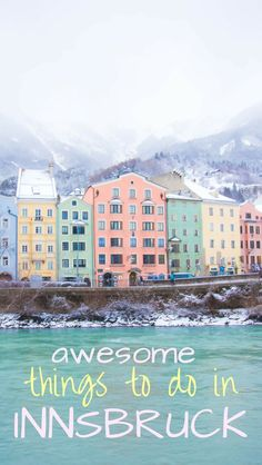 The ultimate list of things to do in Innsbruck Austria Including Winter and summer options skiing hiking christmas time Nordkette the old town Austria Travel, Germany Travel, Europe Travel Tips, Travel Advice, Travel Guide, Italy Travel, Austria Winter, Stuff To Do, Things To Do