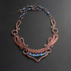 Dance Copper Necklace | by Ruth Jensen