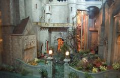 colleen moore's fairy castle photos   The Castle's Magic Garden: Colleen Moore's Fairy Castle