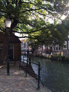 Behind the Grote Kerk (Big Church), Dordrecht, Holland
