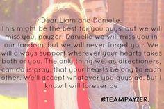 i'm super sad, i cried that night when they broke up #TEAMPAYZER