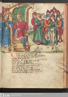 197 [97r] - Ms. germ. qu. 12 - Die sieben weisen Meister - Seite - Mittelalterliche Handschriften - Digitale Sammlungen