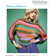 Vogue Knitting Holiday 2009 #4  design by Kaffe Fassett
