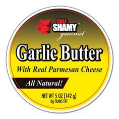 Chef Shamy Parmesan Garlic Butter - OMG!  Bought some from a display at Sam's Club on Saturday and have already used 1/2 the tub.  It is AWESOME!