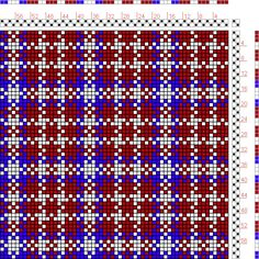 Hand Weaving Draft: Figure 105, A Manual of Weave Construction, Ivo Kastanek, 2S, 2T - Handweaving.net Hand Weaving and Draft Archive