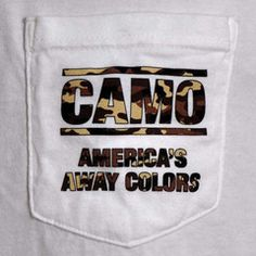 CAMO: America's Away Colors Pocket Tee Shirt