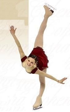 Sasha cohen=perfect spiral
