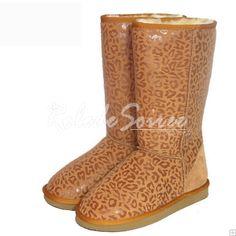 Bottes Fourrées-BGG neige bottes Classic Tall élégant et stylé en cuir Leopard c