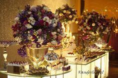 mesa de bolo do meu casamento! <3