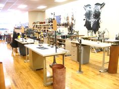 Where the magic happens here at Sole Survivor Leather!