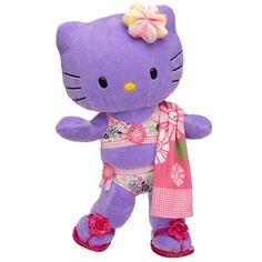 beach bound purple hello kitty is ready for warmer weather! $40