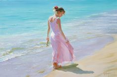 Vladimir Volegov Pretty in Pink painting is shipped worldwide,including stretched canvas and framed art.This Vladimir Volegov Pretty in Pink painting is available at custom size. Pink Painting, Figure Painting, Oil Painting On Canvas, Pink Lady, Female Portrait, Female Art, Oil Portrait, Pretty In Pink, Vladimir Volegov