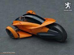 Menuda moto de peugeot