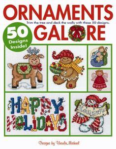 Free Cross Stitch Christmas Ornaments | home cross stitch patterns charts holidays christmas ornaments galore ...