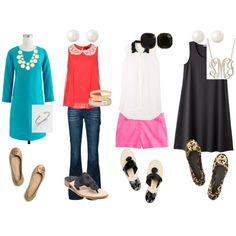 """""""College Outfits"""" by misssouthernprep on Polyvore"""